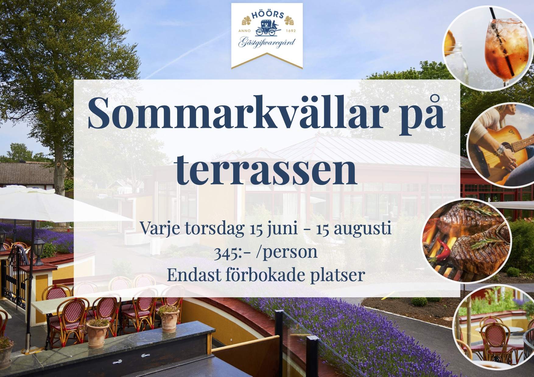 Sommarkvällar på Terrassen